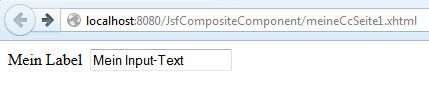 JsfCompositeComponent1-Webseite